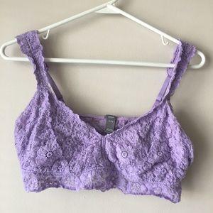 Aerie Lavender Bralette